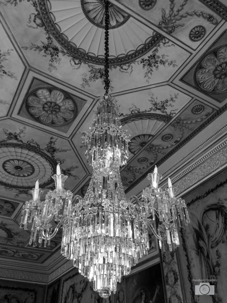 Chandelier / Inveraray Castle by Reinhold Staden
