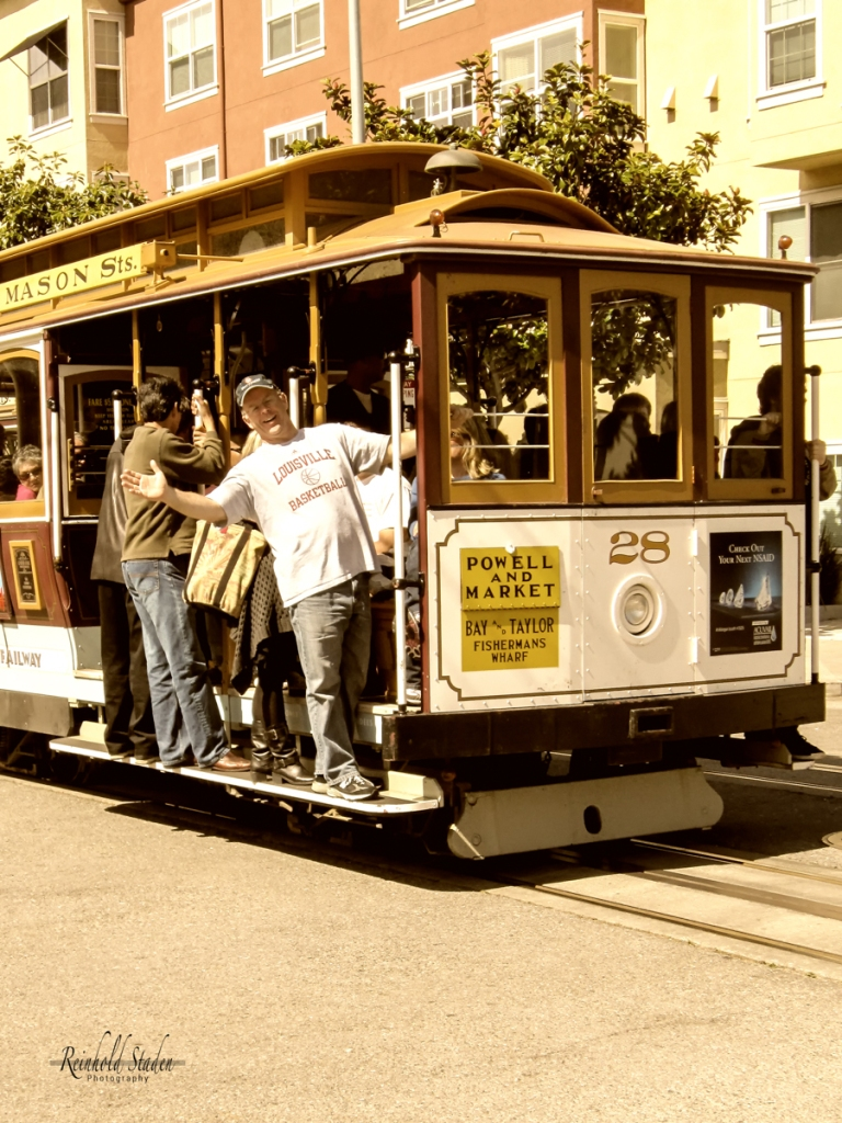 San Francisco - Cable Car by Reinhold Staden
