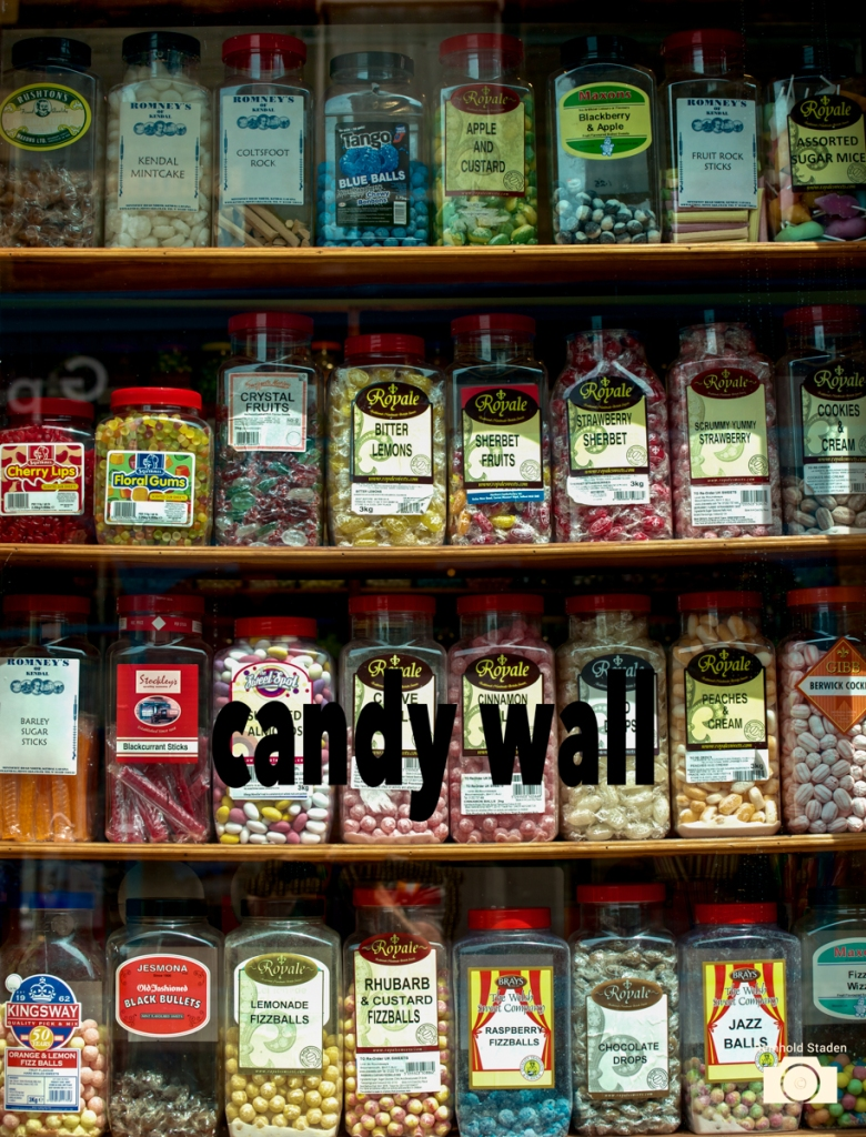 Windermere - Candy wall - by Reinhold Staden