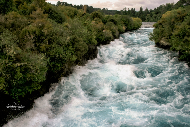 Huka Falls - South Island - New Zealand by Reinhold Staden