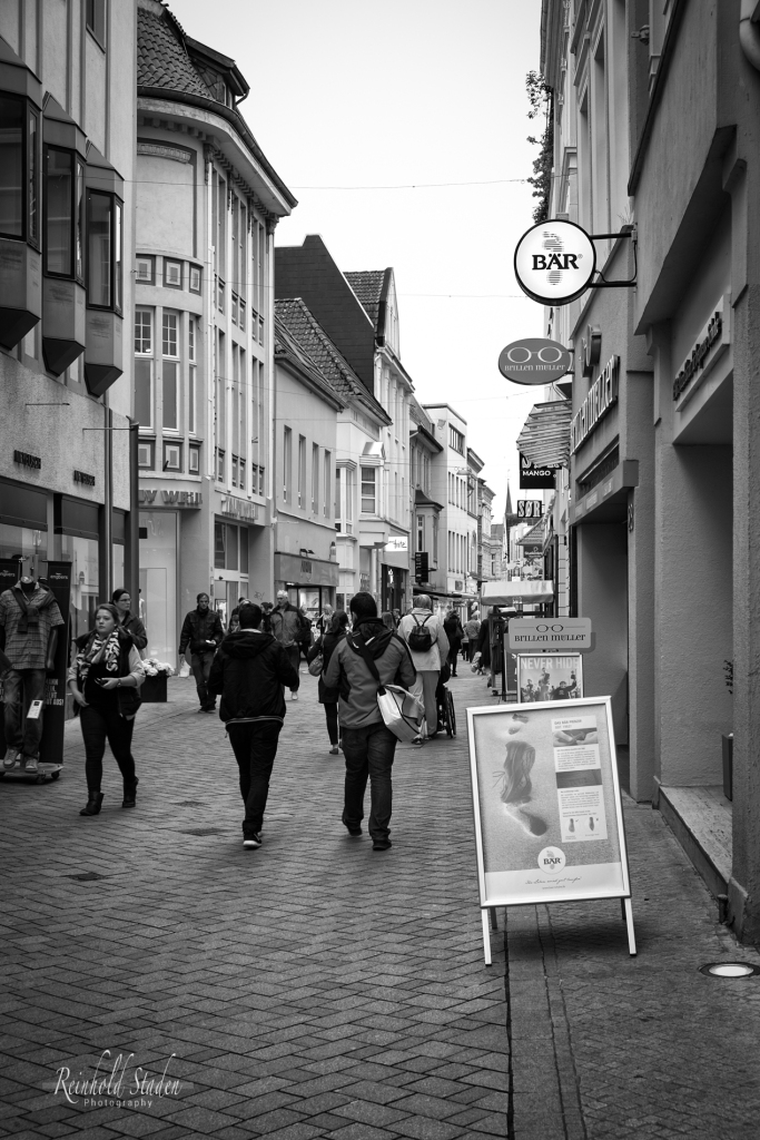 Oldenburg Pedestrian Zone  by Reinhold Staden