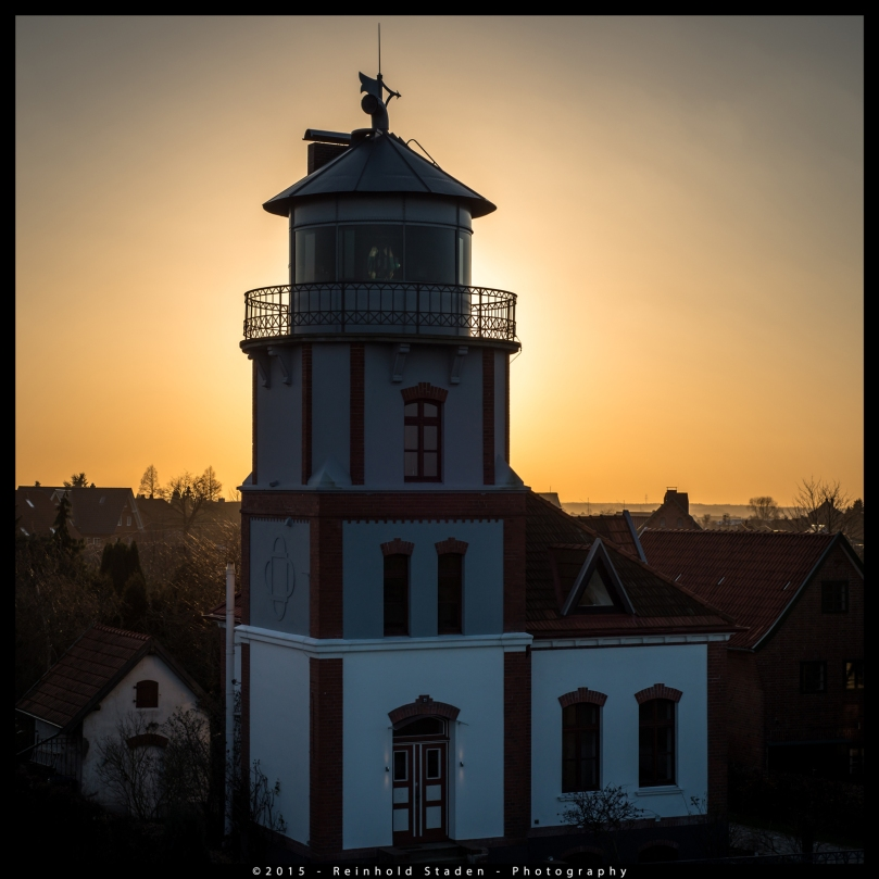 Lighthouse in Jork - River Elbe by Reinhold Staden