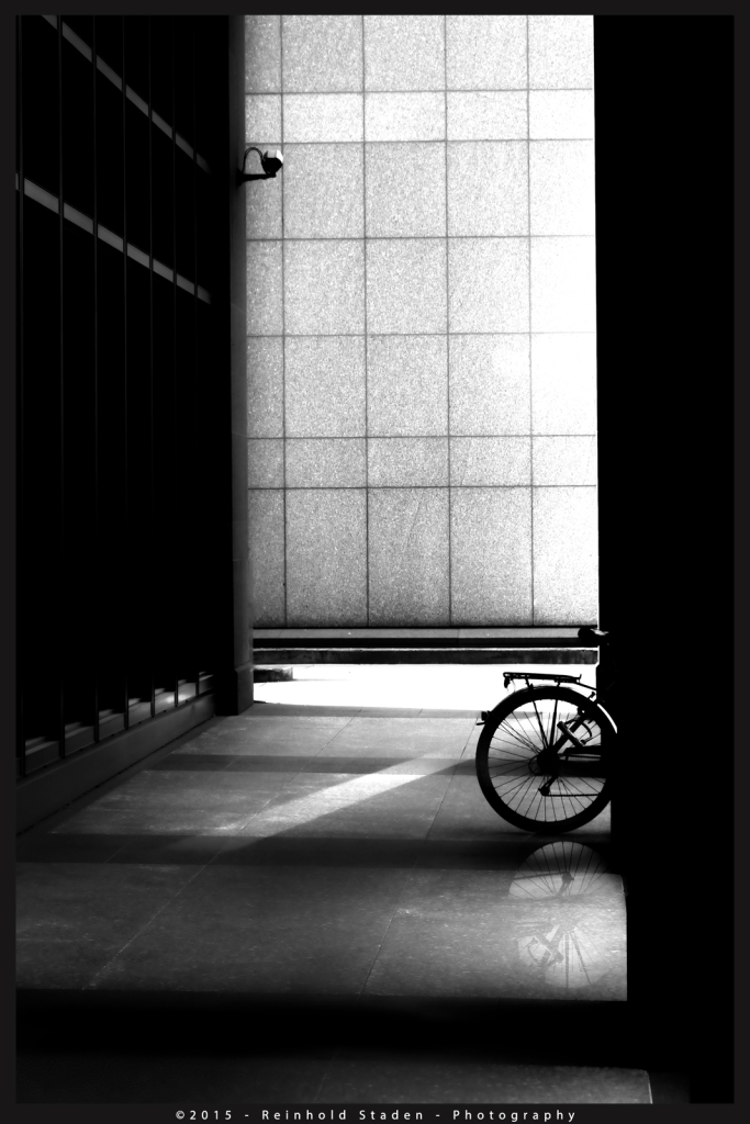 Banker on Bike by Reinhold Staden