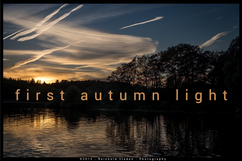 Autumn Light by Reinhold Staden